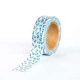 Washi Tape - Blue Anchors