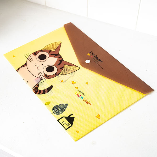 File Folder - Brown Cat