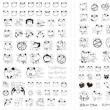 Cute Heads stickers