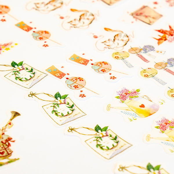 40 Cute Stickers Set