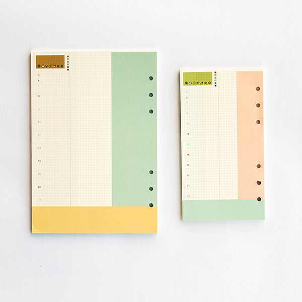 All Day Diary/Planner Inserts