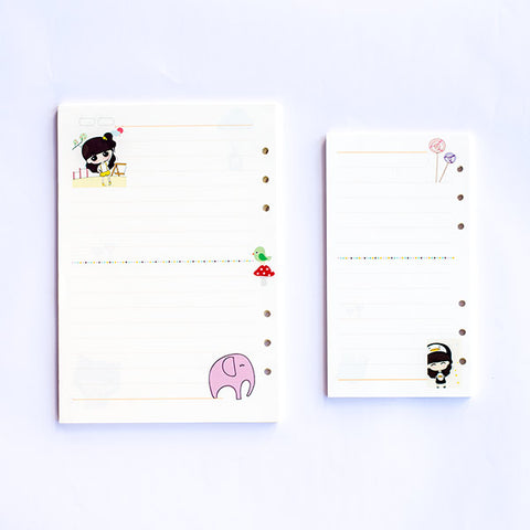 A5/A6 Daily Diary Inserts