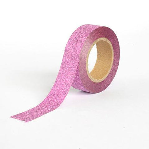 Washi Tape - Glitter Dark Pink