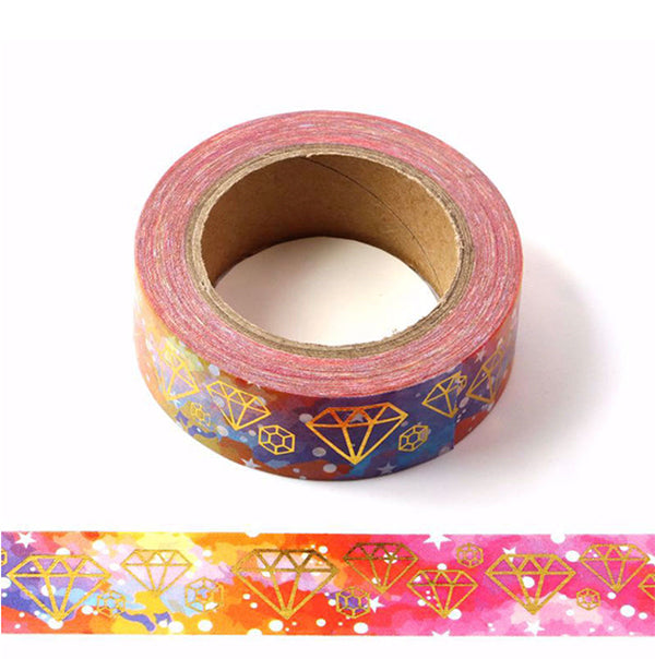 Diamond In Galaxy Washi Tape