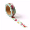 Red And Yellow Flamingo Washi Tape