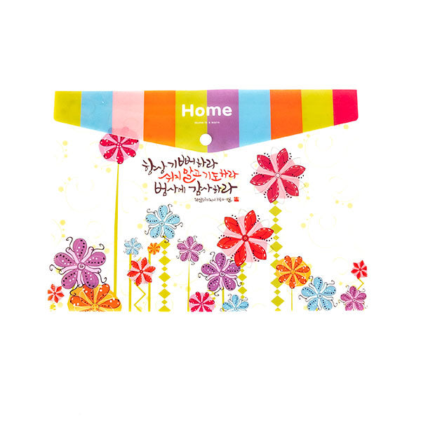 File Folder - Graphic Flowers
