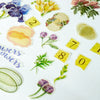 Flower Deco Sticker Set 64