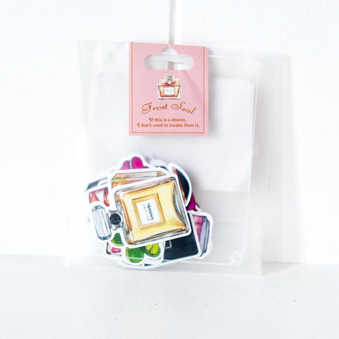 Frost Seal Designer Perfume Stickers