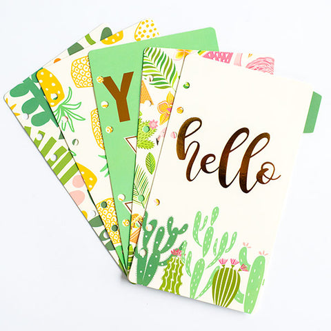 Hello YaY Diary Dividers A5/A6