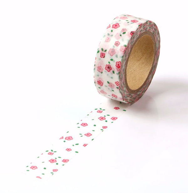Washi Tape With Flower Pattern