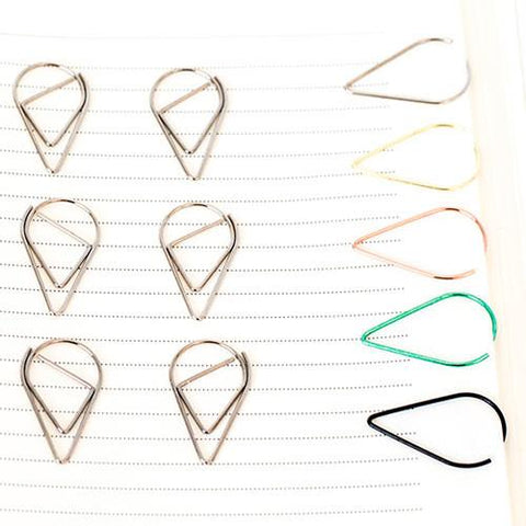 10 Silver Paper Clips