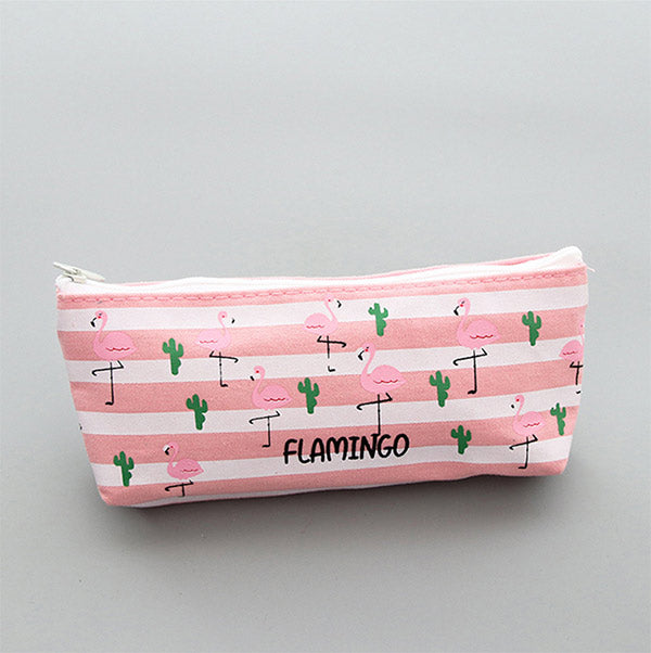 Flamingo Pink Pencil Cases