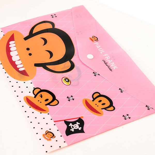 Pink File Holder With Paul Frank