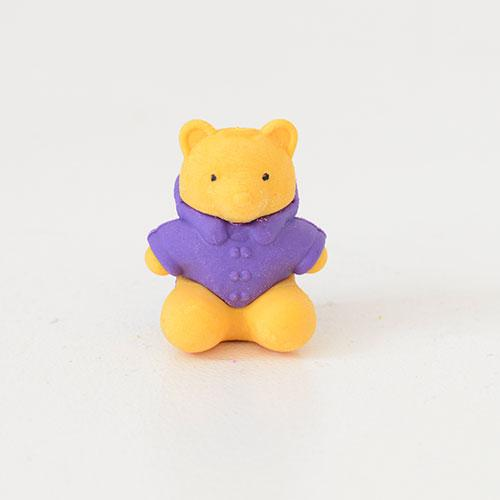 Cute Colourful Rubber Bear Erasers