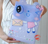 Purple Rabit file folder