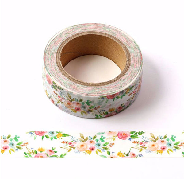Washi Tape - Red Roses