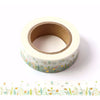 Spring Flower Gold Foiled Washi Tape