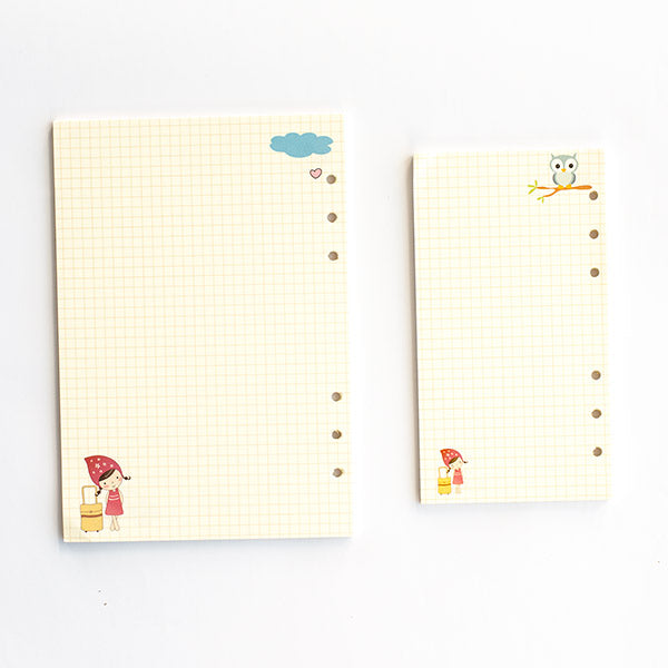 Planner Or Diary Grid Inserts A5/A6