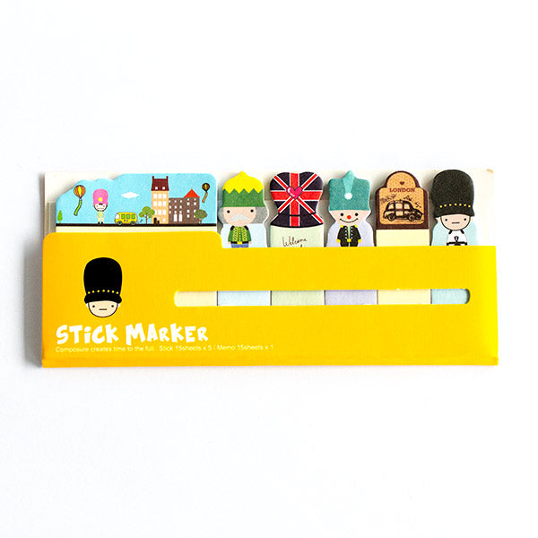 Sticky Notes London Happy City