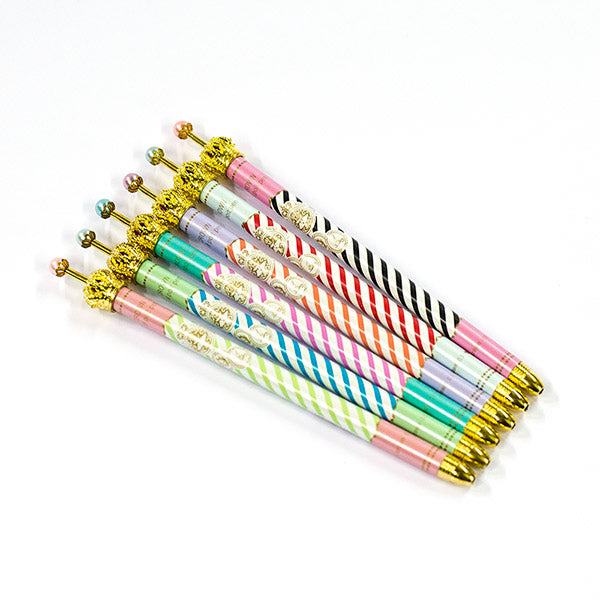 Crown Striped Pens
