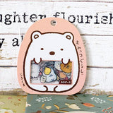 Sumikko gurashi Polar Bear Stickers