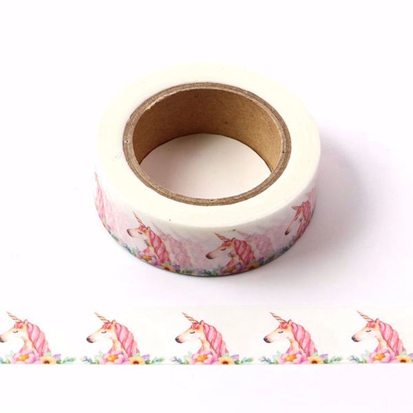 Pink Unicorn Washi Tape