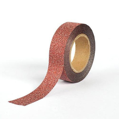 Washi Tape -  Glitter Copper