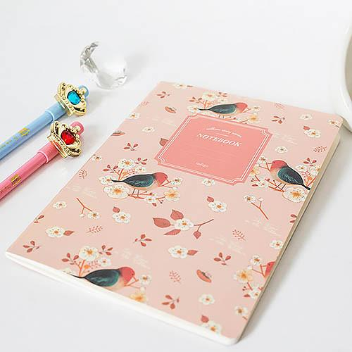 Willow Story Birds Notebook