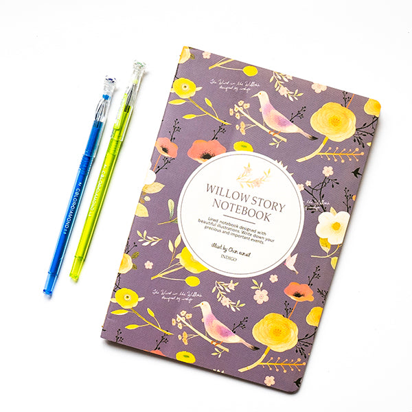 Willow Story Flower Notebook