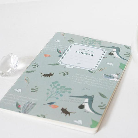 Willow Story Crocodile Notebook