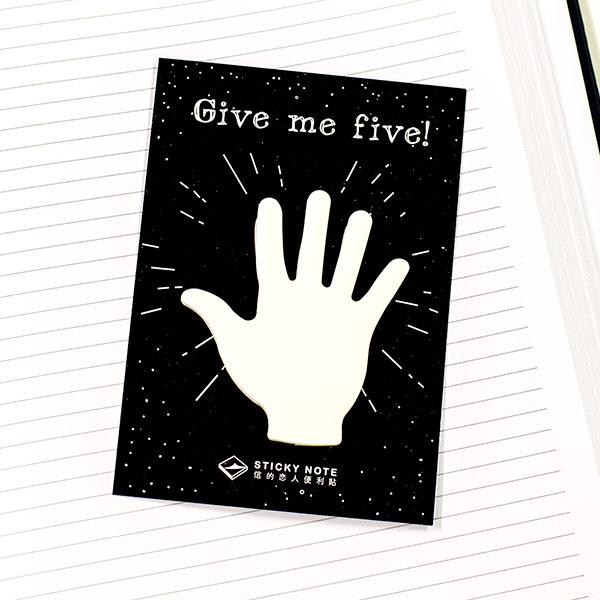 Sticky Note - Give Me Five