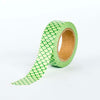 Washi Tape - Green Japanese Pattern