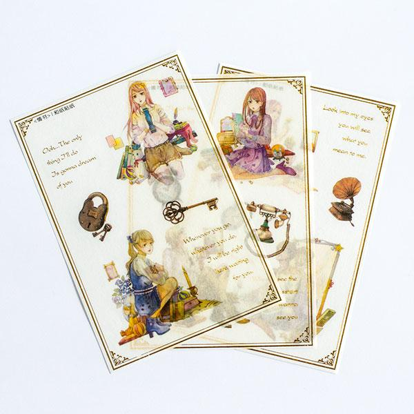 Romance Vintage - Sticker Set