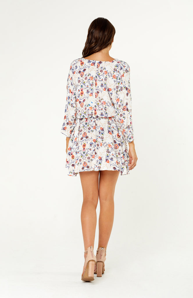 Andria Floral Long Sleeve Dress