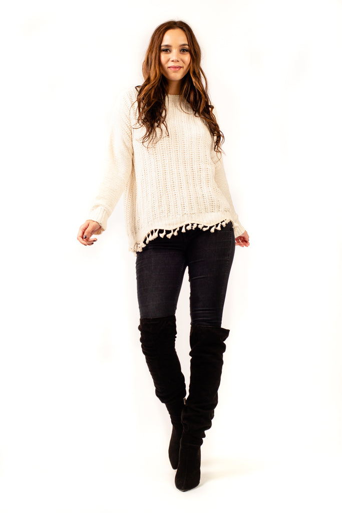 Edelweiss Knitted Jumper