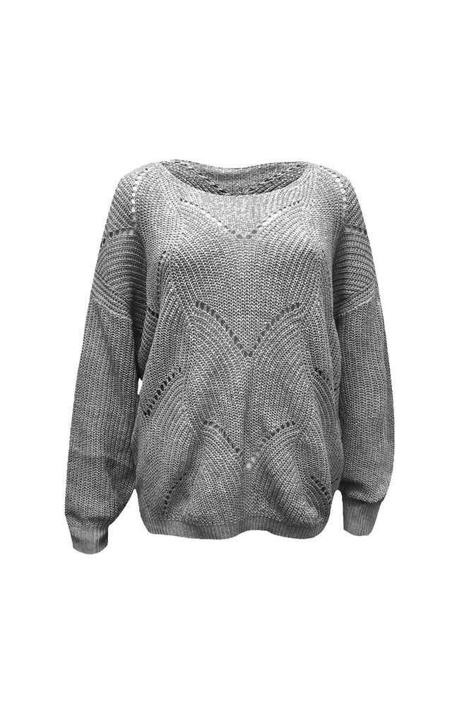 Gretel Hollow Knitted Sweater