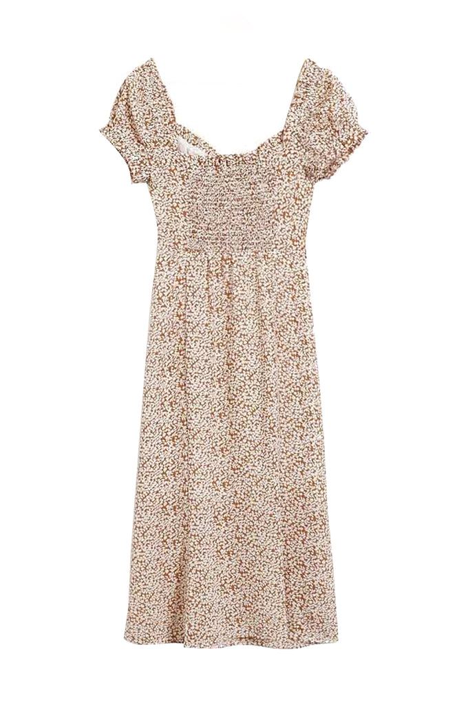 Nutmeg Floral Dress