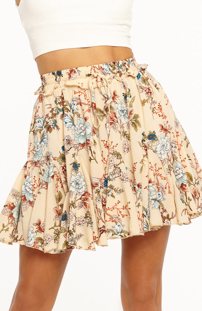 Spin Me Right Round Mini Skirt