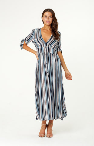 Old Town Gingham Maxi Dress