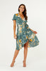 Tivoli Terrace Floral Midi Dress