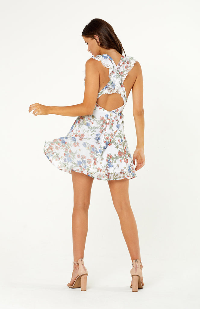 Sofia Lace Floral Dress