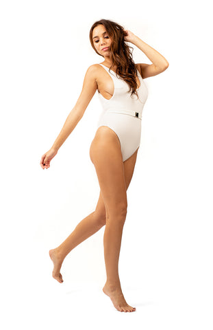 Ariel One Piece Swimsuit White