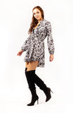 Breman Button Up Mini Dress