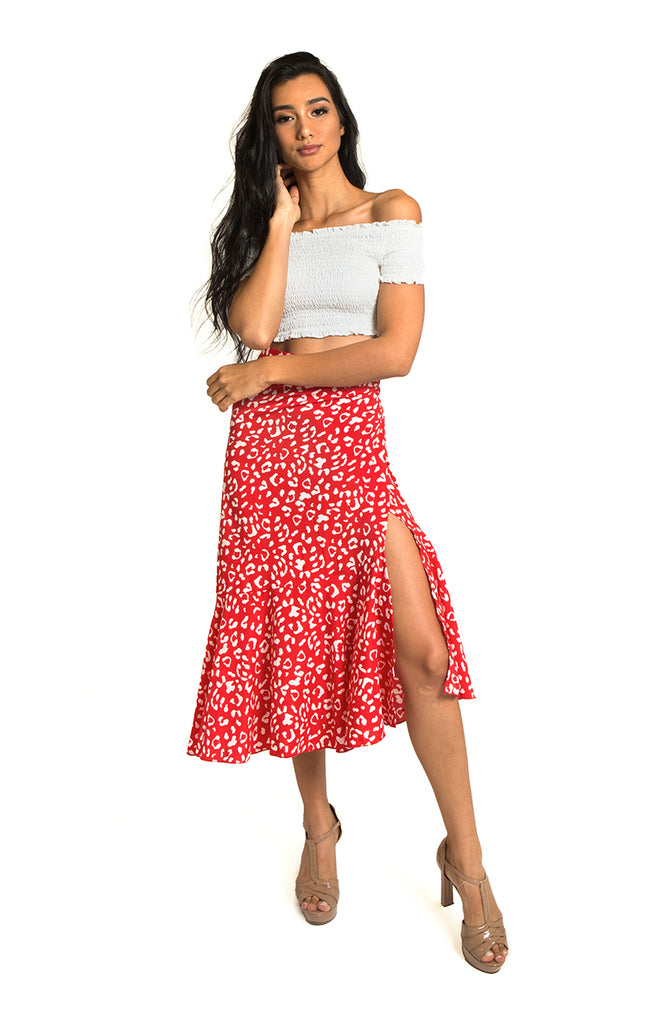 Candy Cane Wrap Skirt
