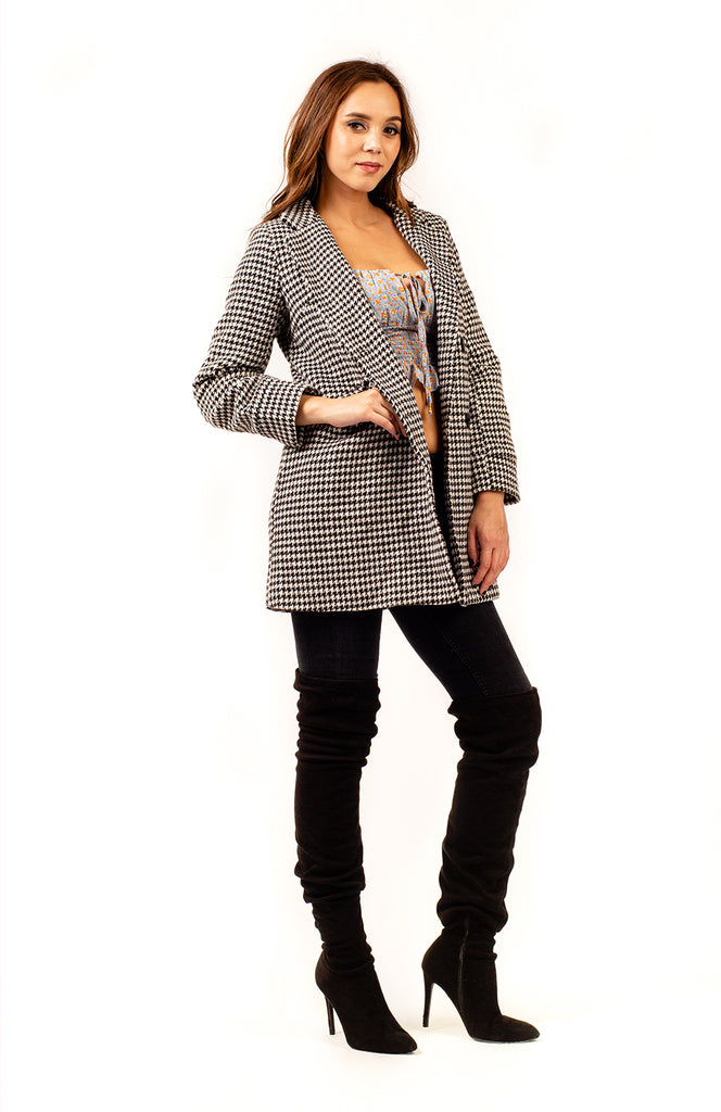Hamburg Houndstooth Jacket