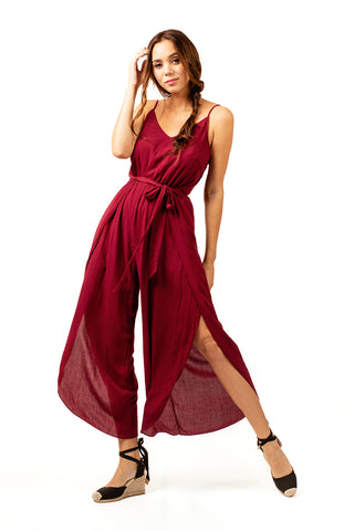 Helena High Split Jumpsuit