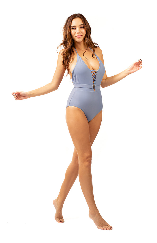 Kindred Spirit Blue One Piece Swimsuit