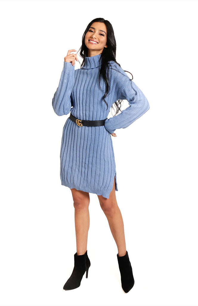 Lavomatic Long Sleeve Knit Dress