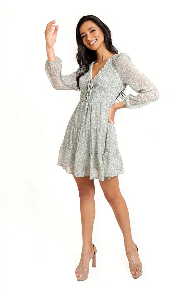 Midori Long Sleeve Dress