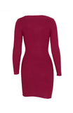 Mulled Wine Knitted Dress